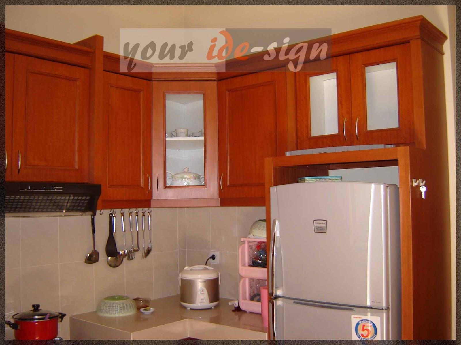 Konsultan dan kontraktor arsitektur dan interior kitchen for Biaya kitchen set