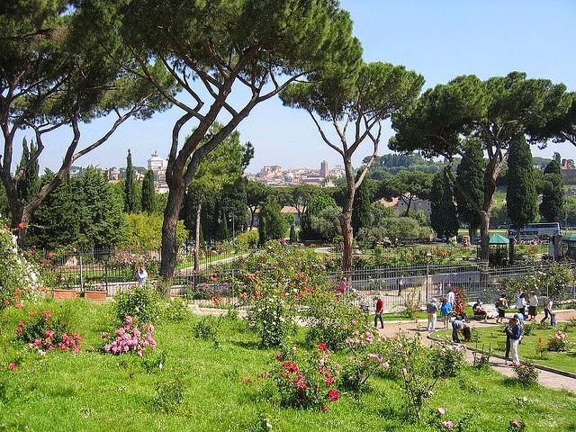 municipal rose gardens aventino rome