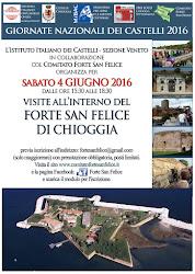 SABATO 4 GIUGNO 2016 VISITE ALL'INTERNO DEL FORTE SAN FELICE