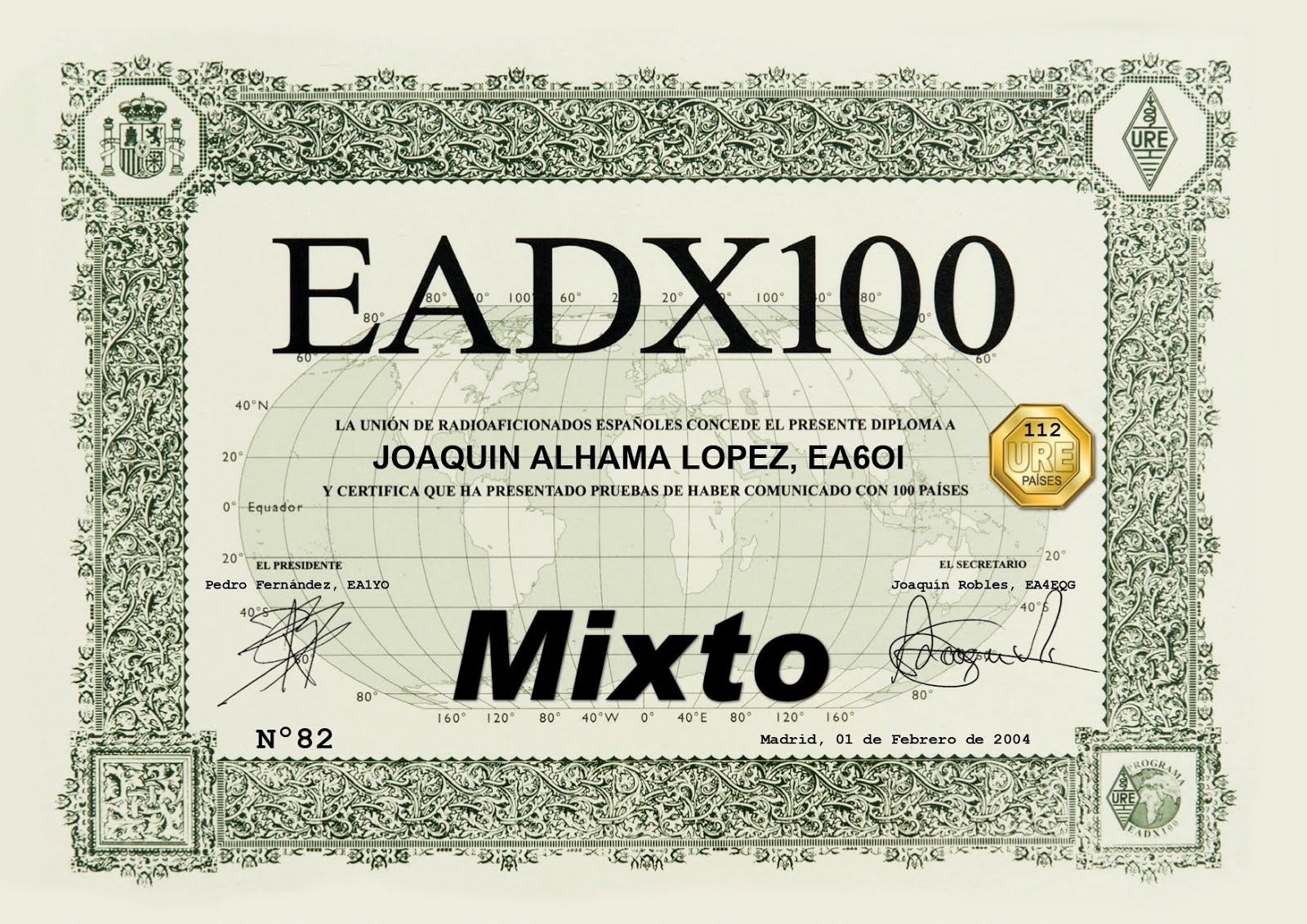 EADX 100 MIXTO