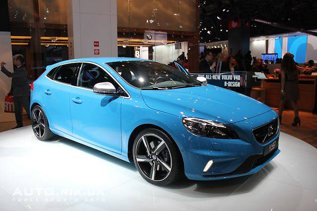 Side photo of Volvo S40 concept
