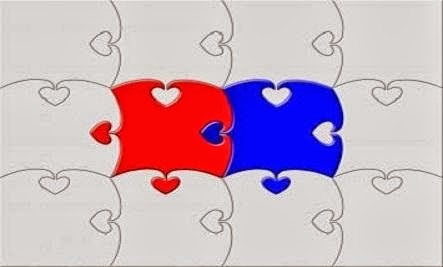 When We Make People 'Special'  - love puzzle pieces romance