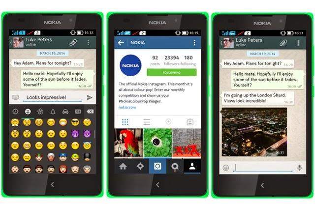 Install WhatsApp on Nokia X