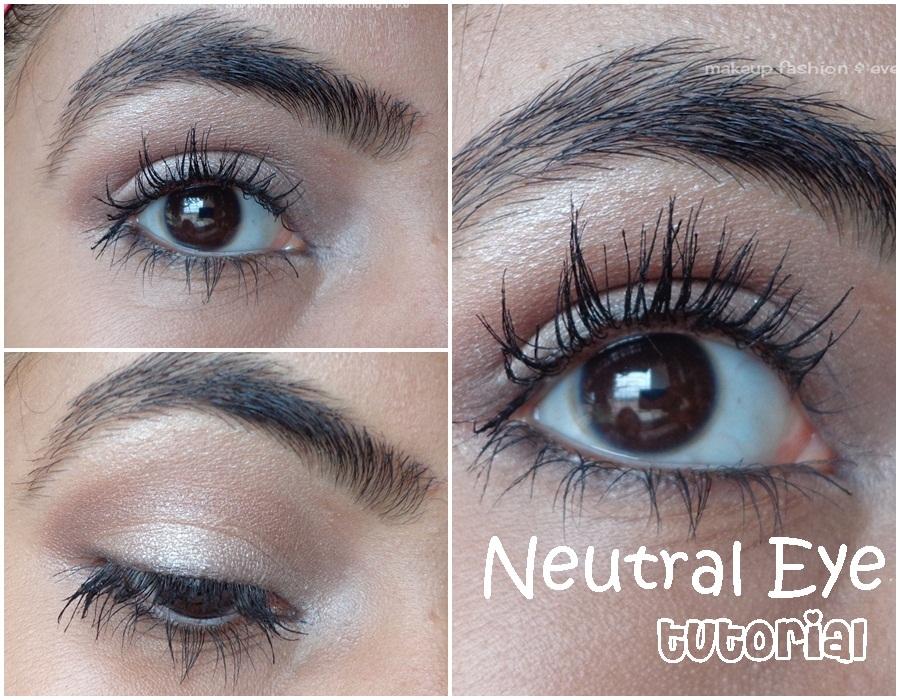 Make Up Fashion Everything I Like Easy Peasy Neutral Eye Tutorial