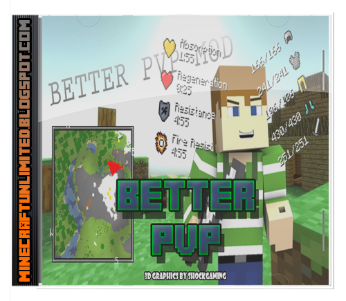 Better PVP Mod minecraft