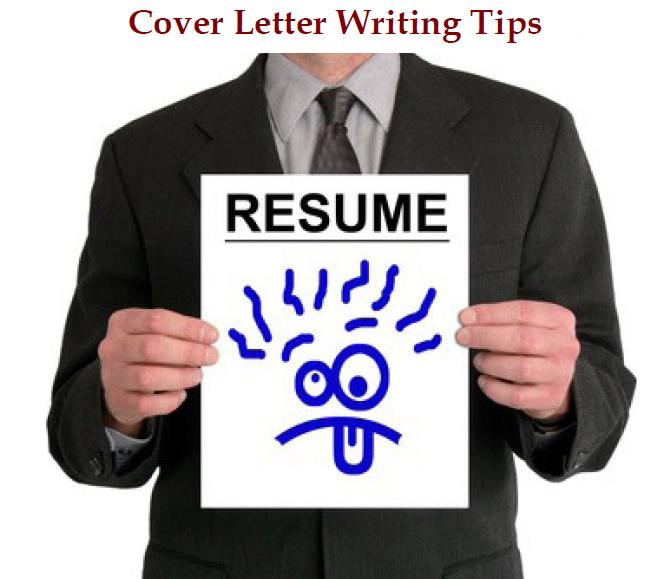 three tips for writing a good cover letter