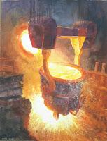 acero, que es el acero, imagenes de acero fundido, fabricacion del acero