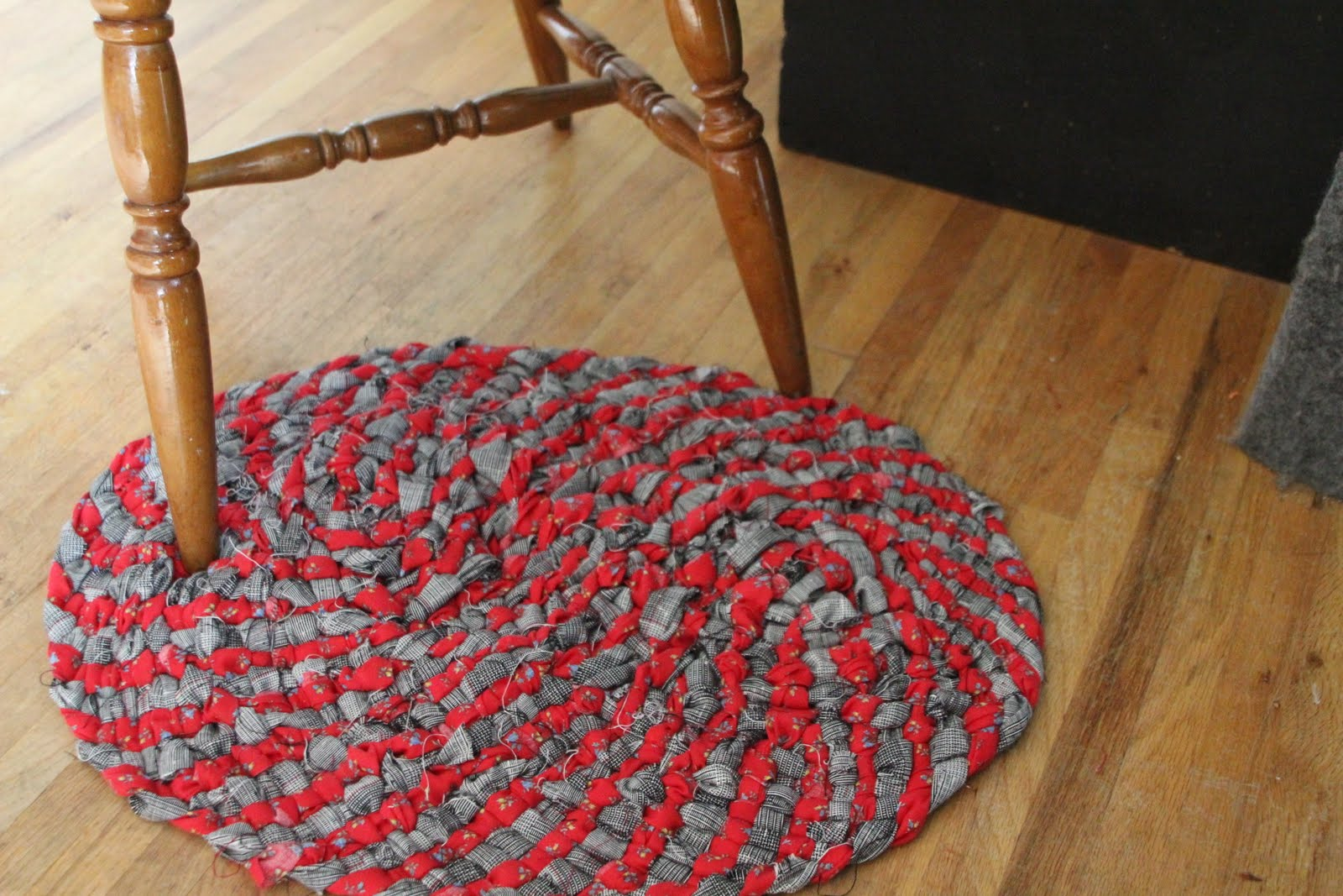 Sunbeam Mom At Home School Play My First No Sew Rag Rug