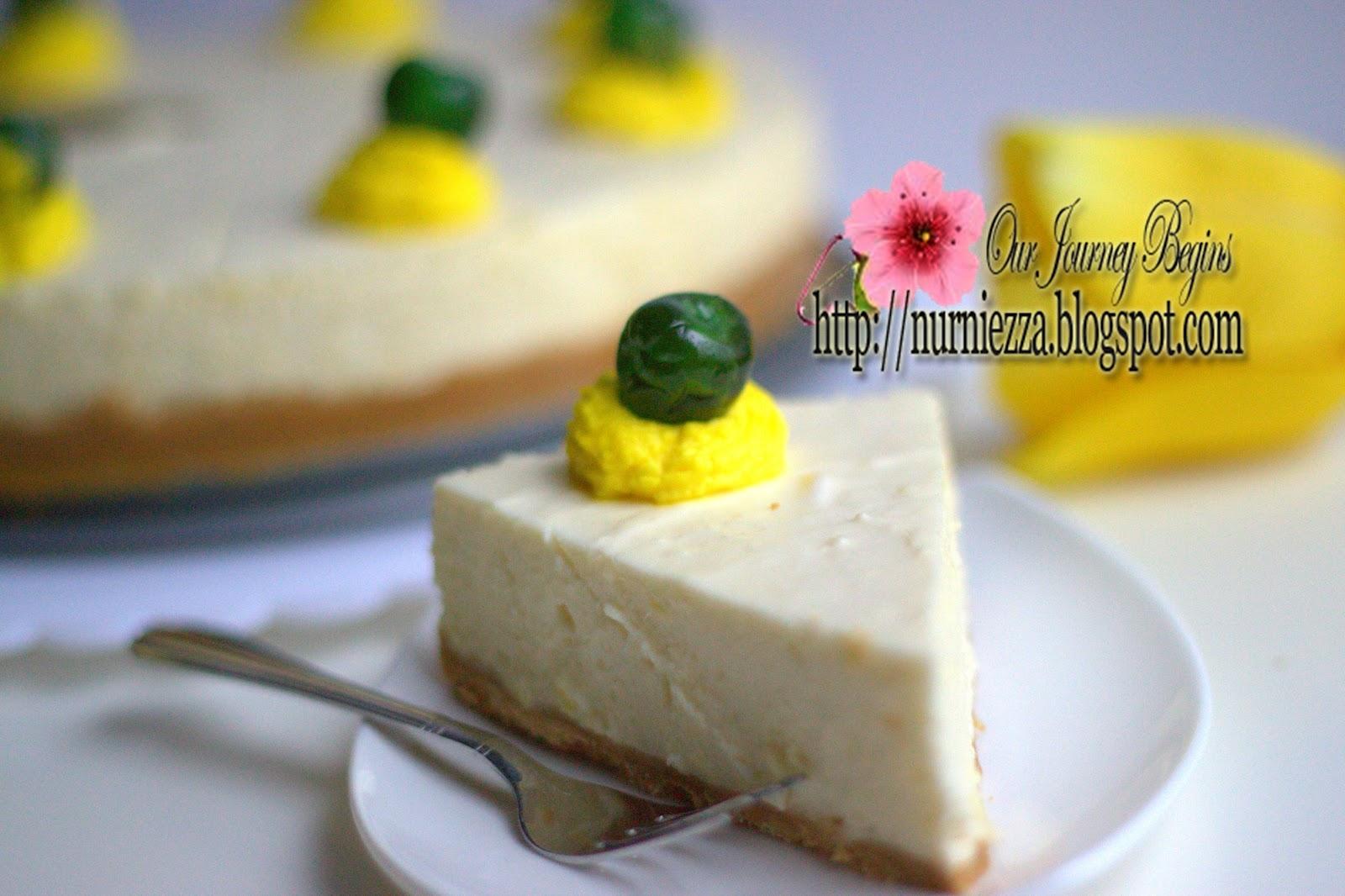Resepi Kek Durian Cheese Copd Blog P