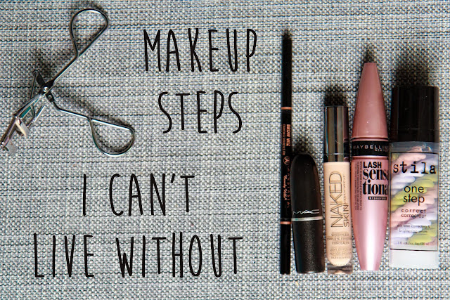 Makeup Steps I Can't Live Without