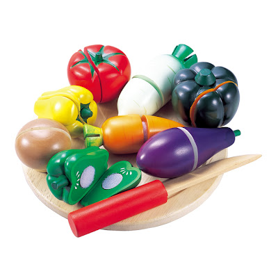 vegetable set, wood toys, baby toys, Japan toys