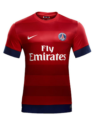 Paris Saint-Germain FC  Away Shirt 2012-2013