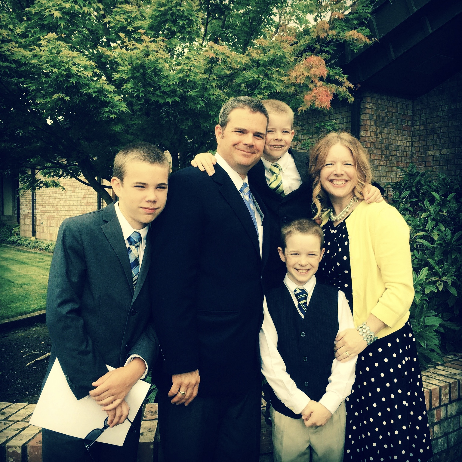 The Youngling's Baptism July 2015