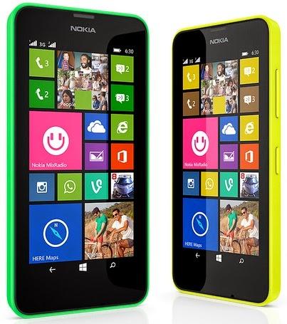 Nokia Lumia 630 Dual SIM Windows Phone Murah Rp 1.9 Jutaan