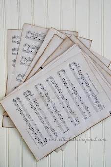 Make New Sheet Music Look Old