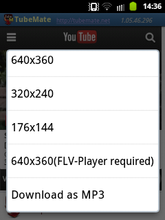 Download Video Youtube di Android 5
