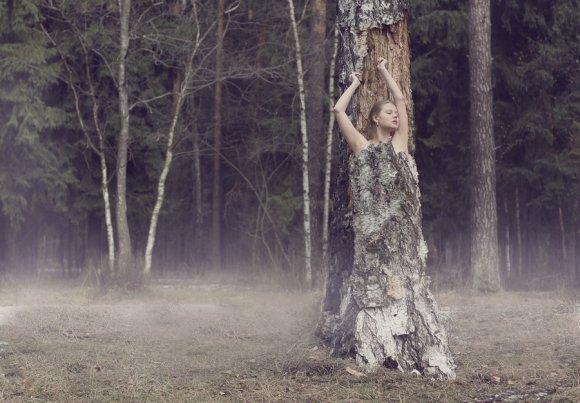 katerina plotnikova fotografia surreal mulheres natureza país das maravilhas Árvore