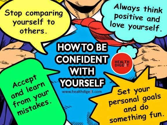 self confident