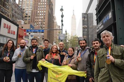 """buongiornolink - Per la prima volta due torinesi emofilici tra i """"runners"""" della Maratona di New York"""