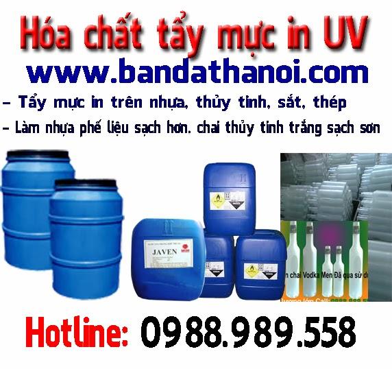 Hoa chat phu gia tay son muc in UV