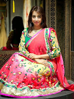 Sanjjana Gorgeous photos in Designer Wear-cover-photo