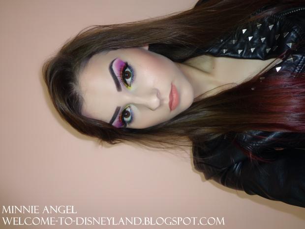 Machiaj Colorat De Seară Minnie Angel