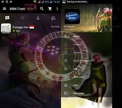 BBM Mod Tema Archer Queen Clash Of Clans New Versi 2.11.0.16 Clone