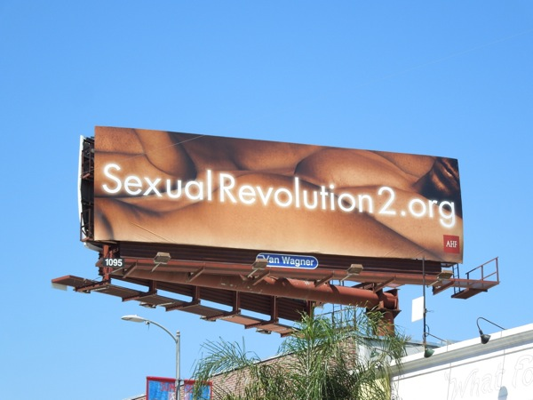 Sexual Revolution 2 billboard