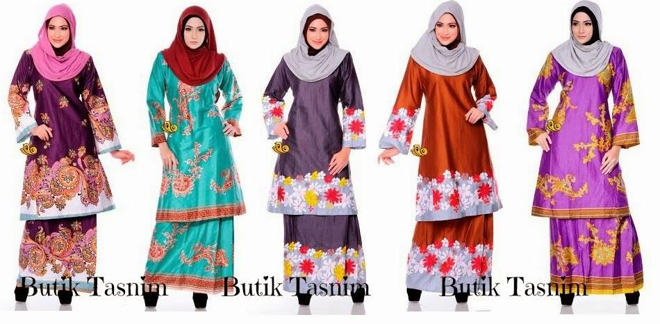 Butik Tasnim Baju Kurung Pahang Sale | New Style for 2016-2017