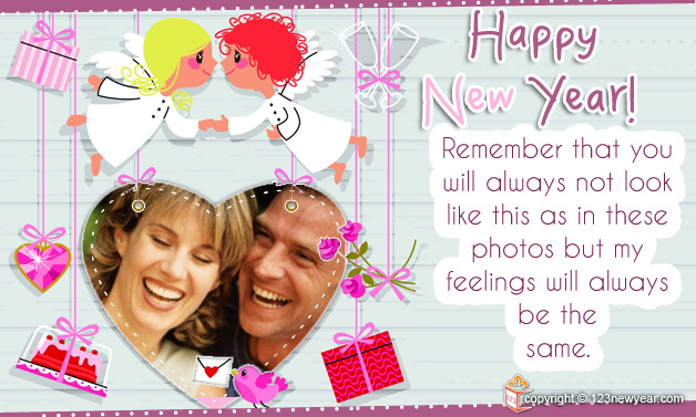 New Year 2014 Wishes Greetings Card