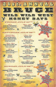 2012 Honey Days Poster