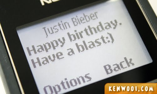 justin bieber birthday wish