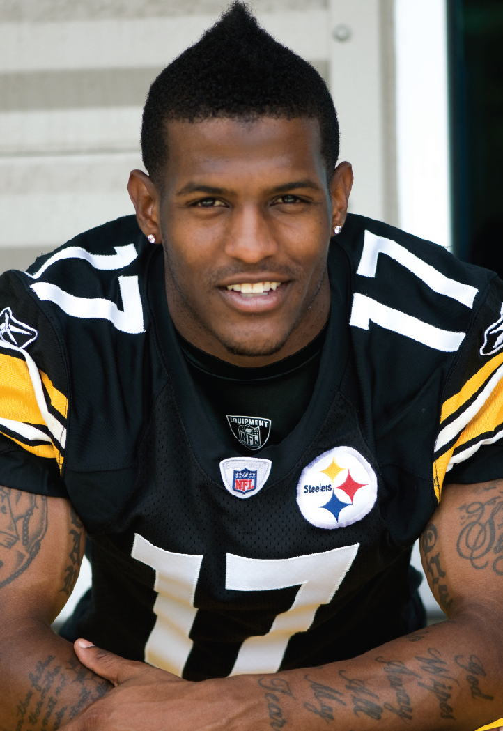 if it aint steel mike wallace likes black and gold