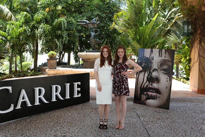 Chloë Grace Moretz y Julianne Moore