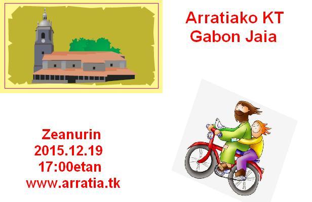Arratiako KT Gabon Jaia Zeanurin