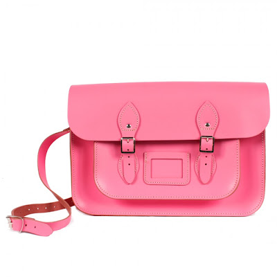 Baby pink satchel from Bohemia