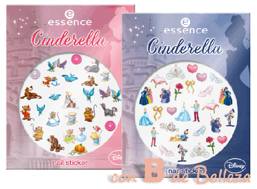 Stickers uña princesas Disney