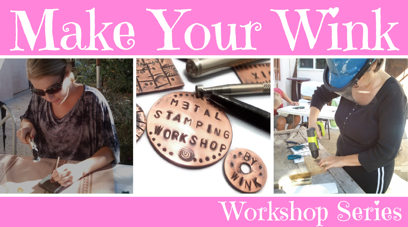 Make Your Wink Workshop Series Wink Artisans DIY