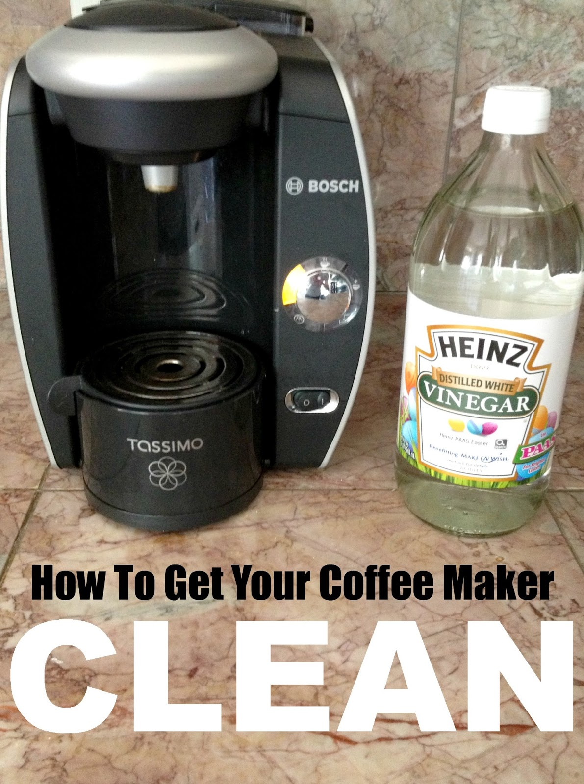 Coffee Maker Cleaning Without Vinegar : LiveLoveDIY: 10 Vinegar Cleaning Secrets