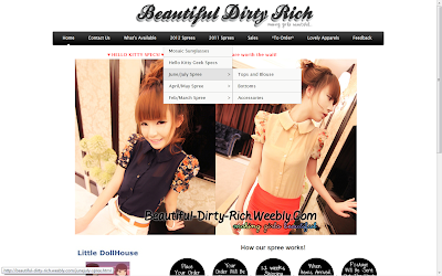Spree+%232 Blogger Review: Beautiful Dirty Rich