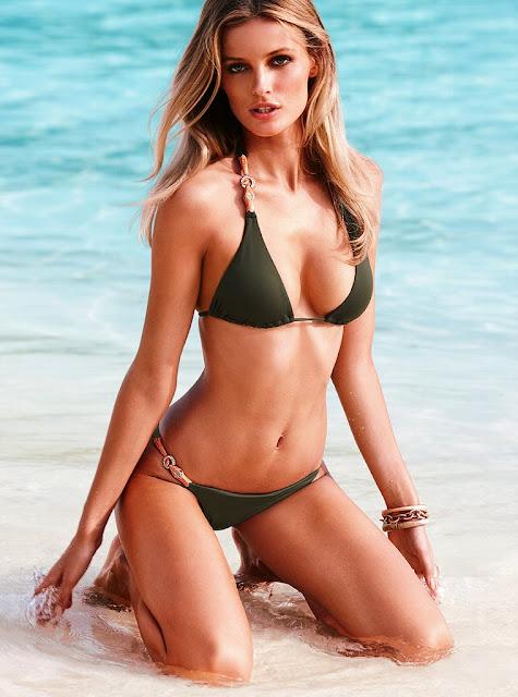 Edita Vilkeviciute sexy in swimwear