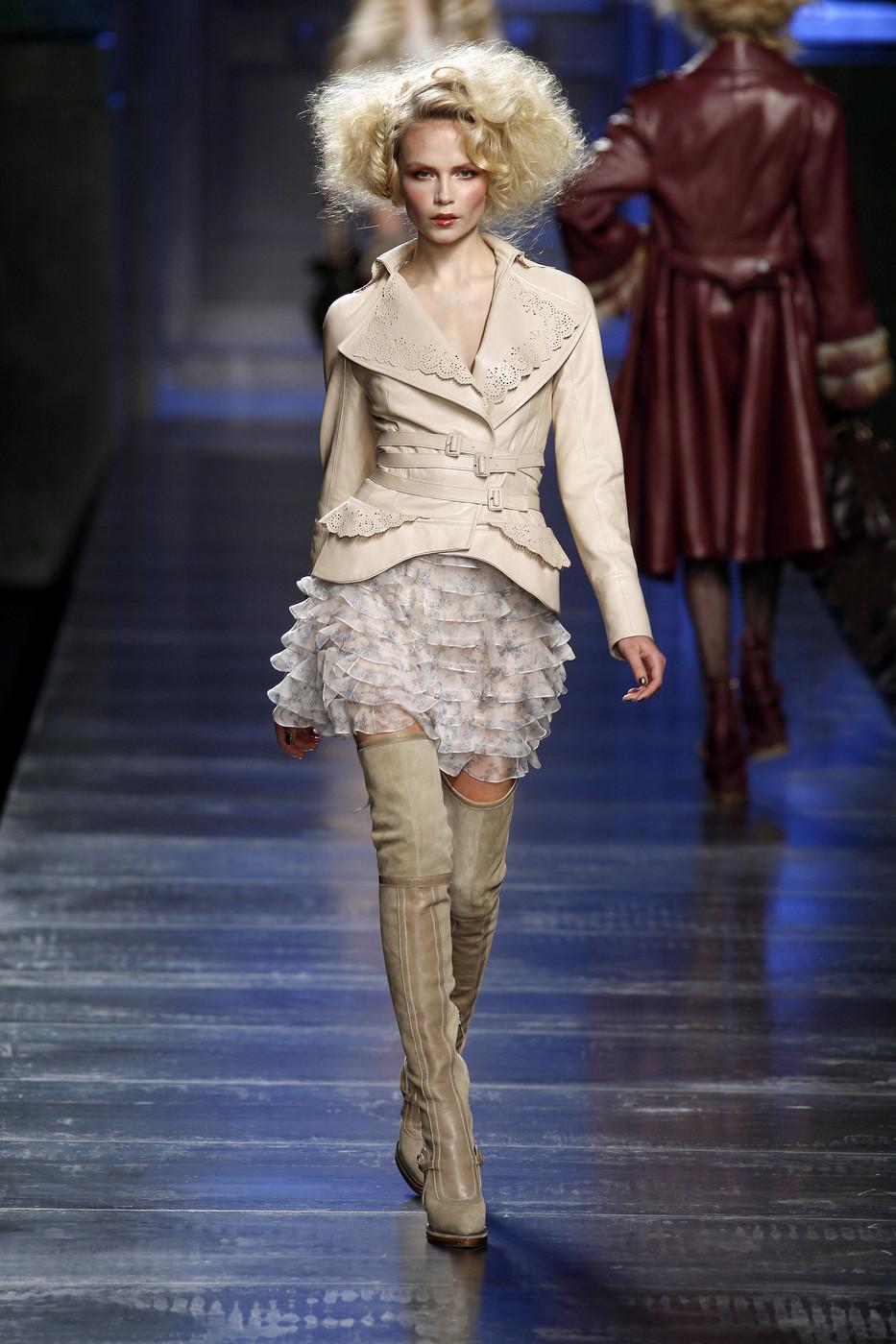 via fashioned by love | John Galliano Christian Dior RTW Fall 2010