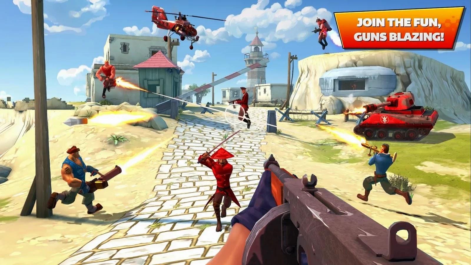Blitz Brigade - Online FPS fun v1.7.1d