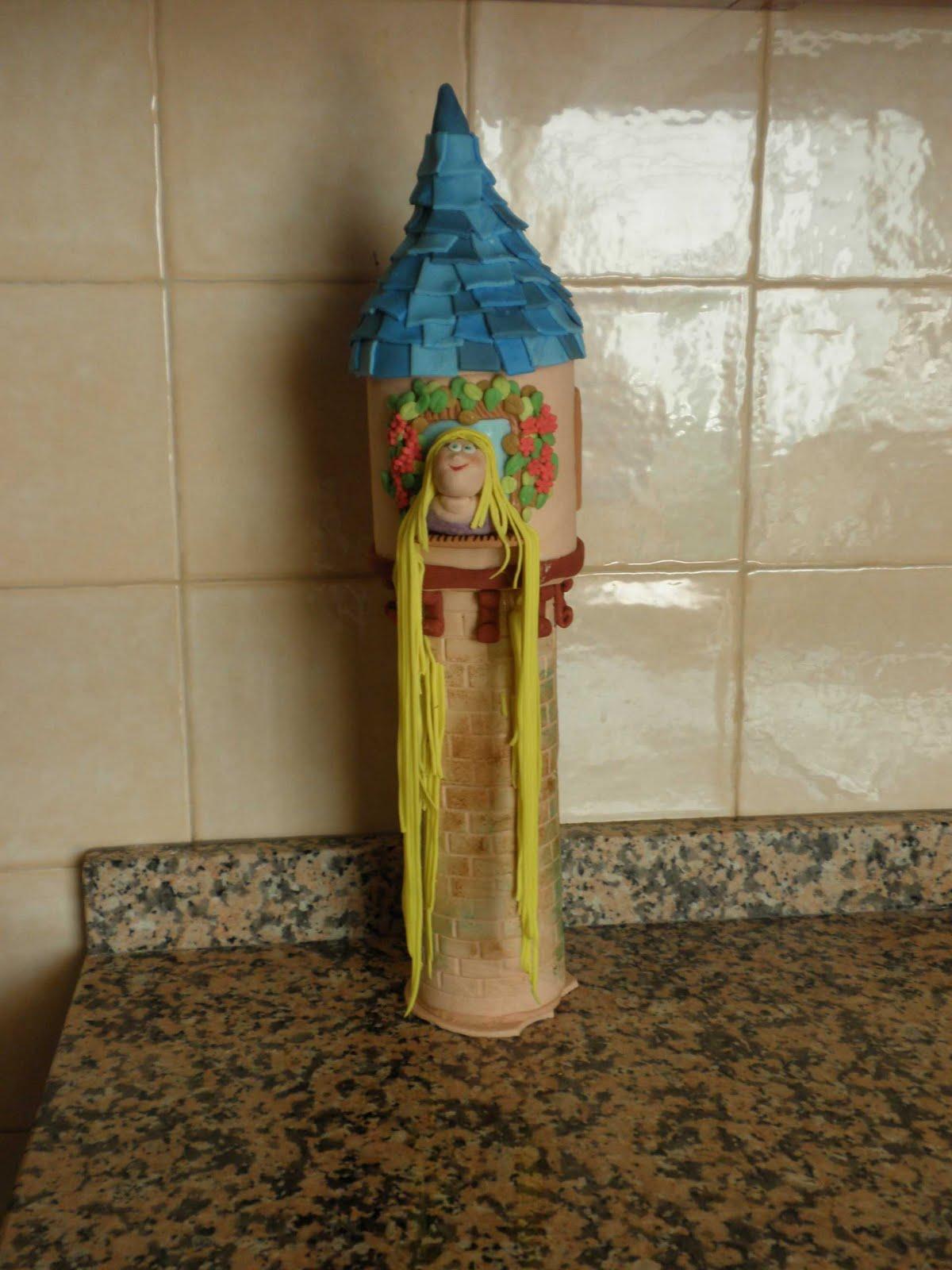 Aprendiz de Repostera: Tarta Torre de Rapunzel