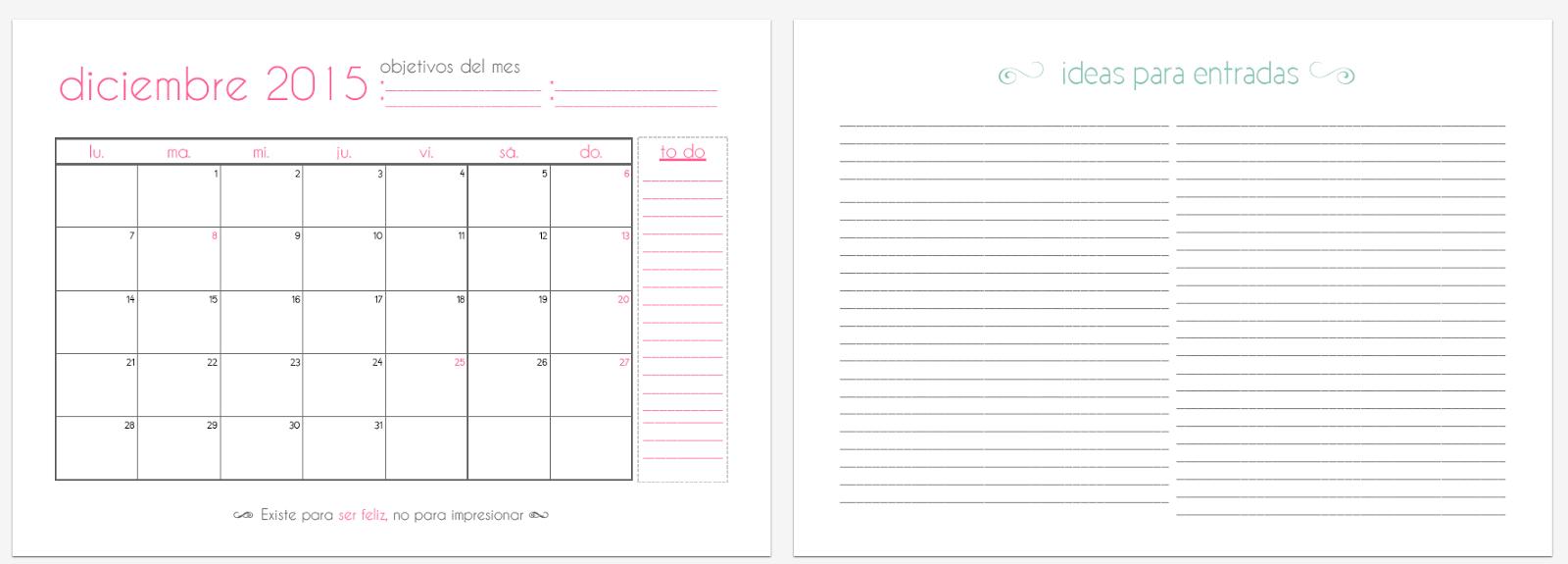 El Divan Azul-imprimible-gratuito-organizador-mensual