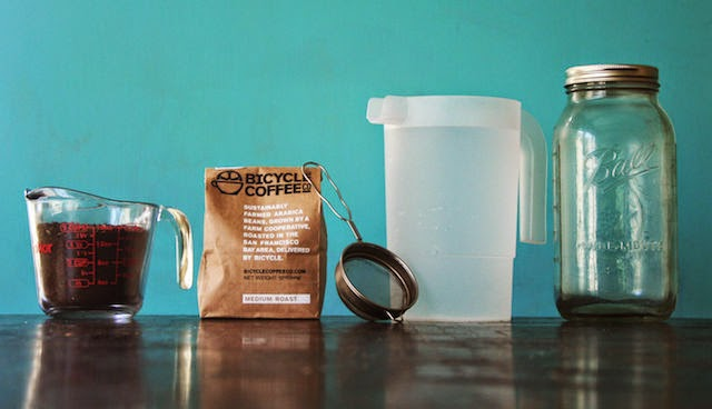 DIY Cold Brew Coffee Concentrate