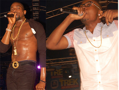 Image Optimize for PHOTOS: D'banj and Olamide clash in Abeokuta as Obesere, Dr Sid, Sound Sultan pull surprise performances