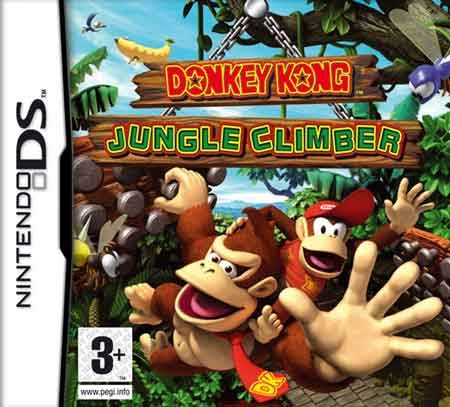 Donkey Kong Jungle Climber (Español) (Nintendo DS)