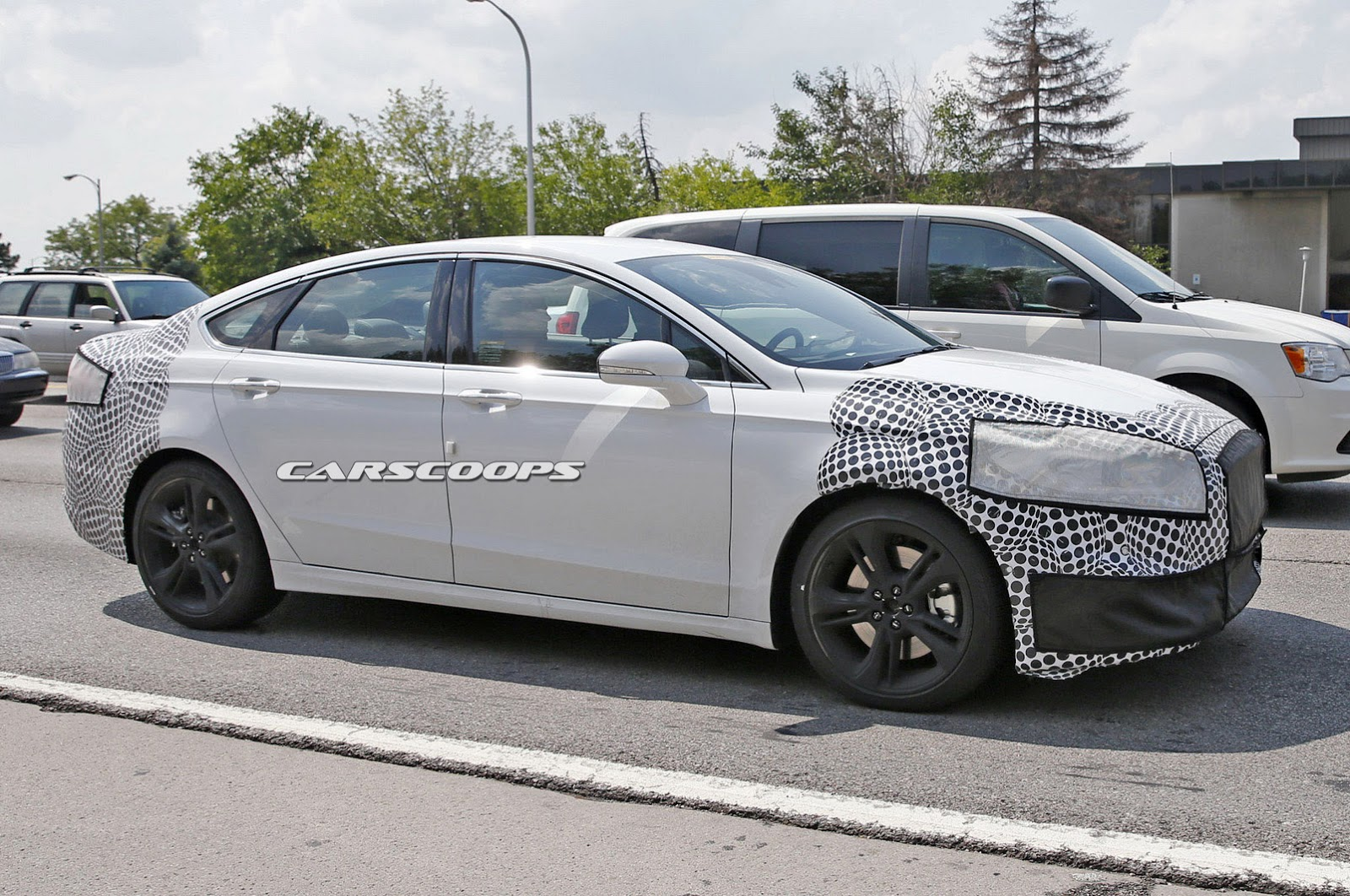 2017 Ford Fusion 2 0 Ecoboost >> Looks Like Ford Is Readying A Hot Fusion ST / Mondeo ST ...