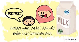 susu, halal, frisian flag, ibu anak, inovasi,